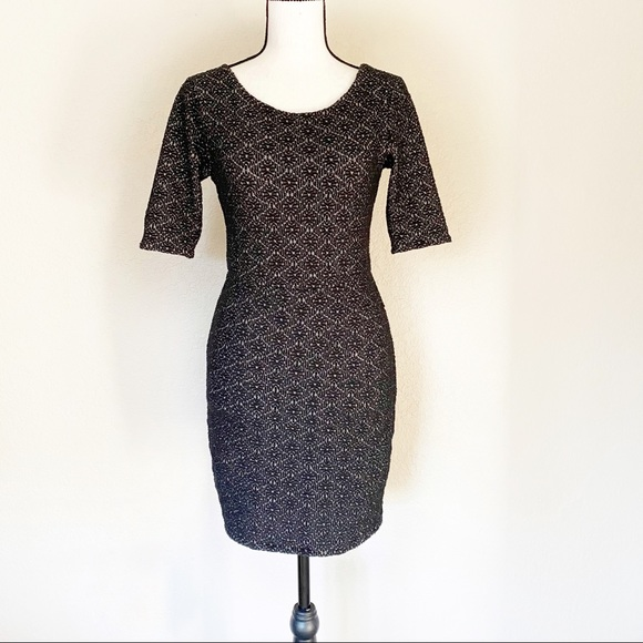 Free People Textured Bodycon Dress Size Small